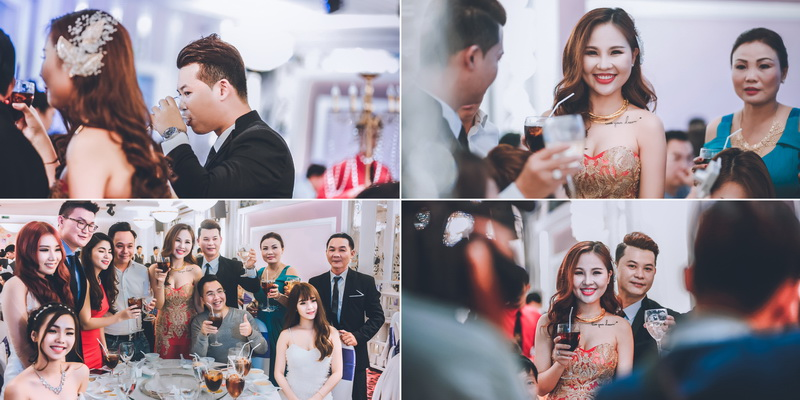 Phát biểu trong lễ rước dâu