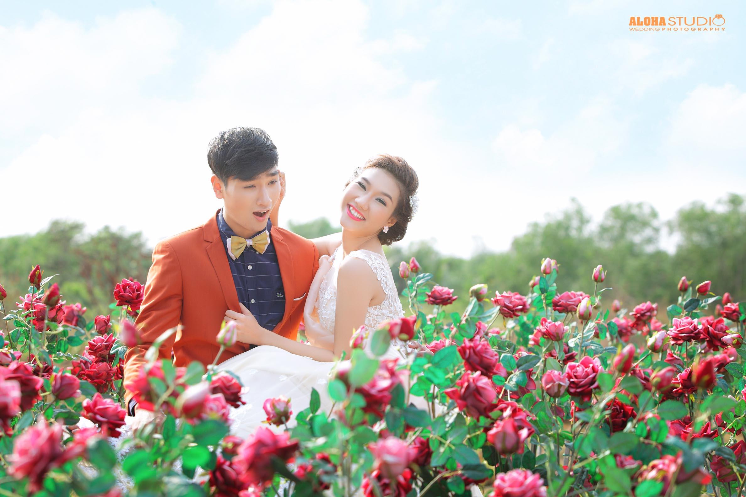 Chụp ảnh cưới phim trường ngoại cảnh