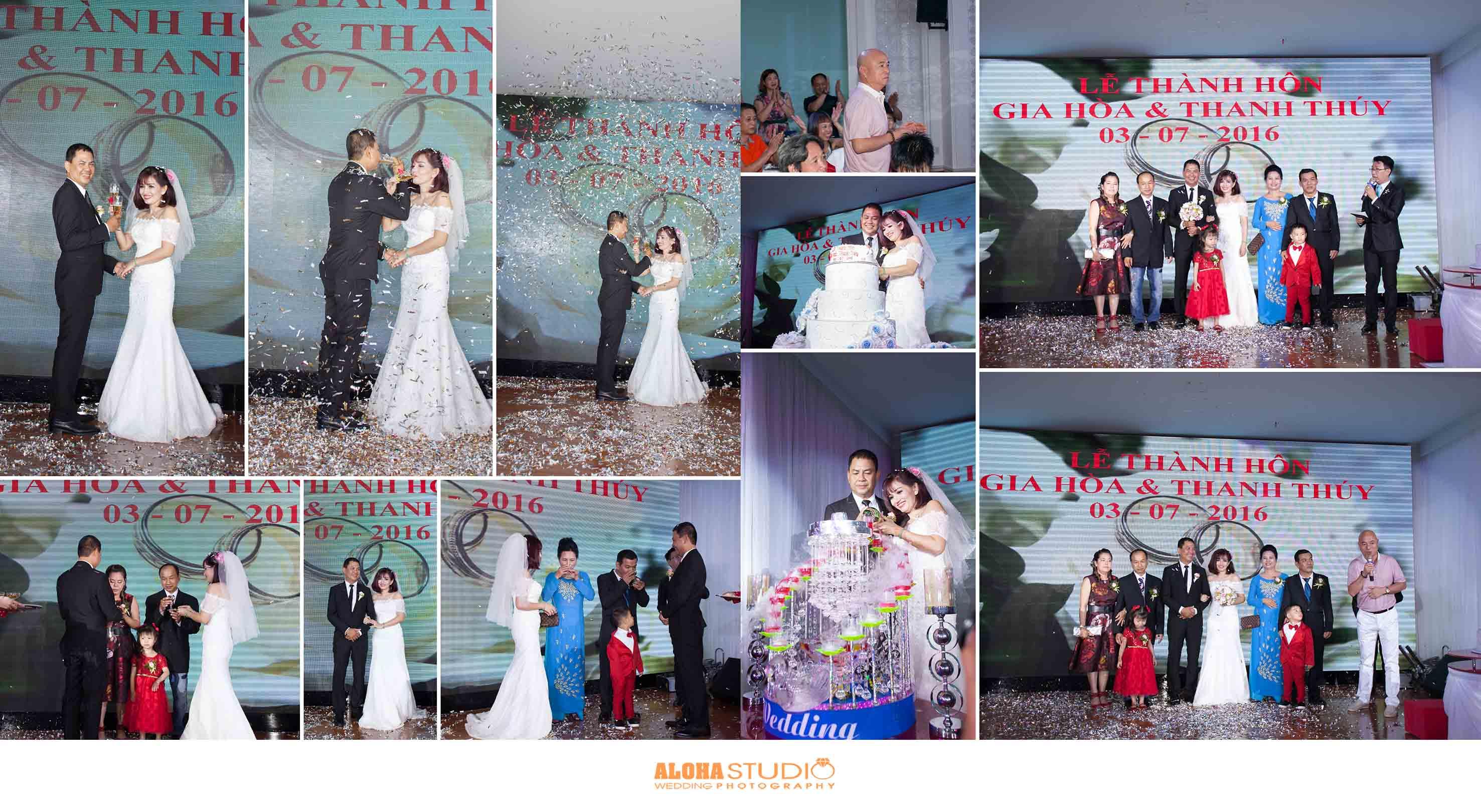 Chụp hình đám hỏi - đám cưới