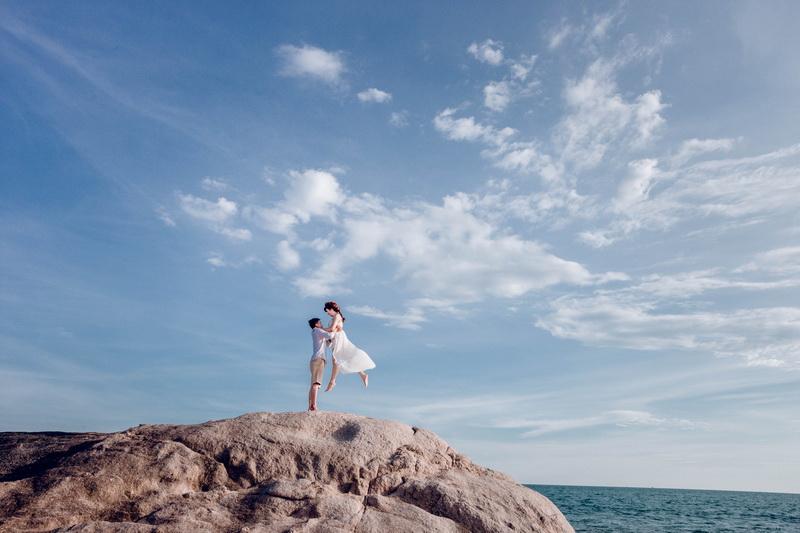 Chụp hình cưới Hồ Cốc Ảnh: Alohastudio