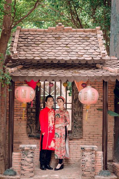 Chụp hình cưới cho người nước ngoài lấy vợ
