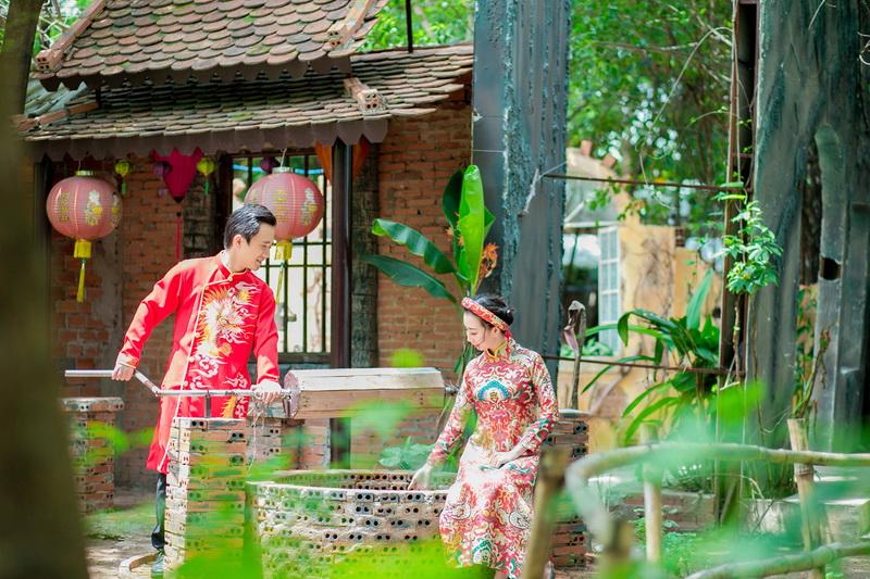Chụp hình cưới cho người nước ngoài
