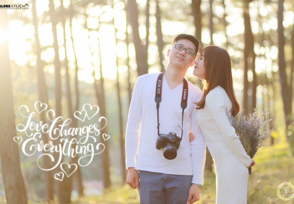 Chụp hình cưới đà lạt giá rẻ