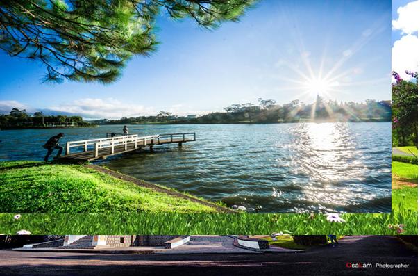 Địa điểm chụp hình cưới hồ xuân hương tại Đà Lạt