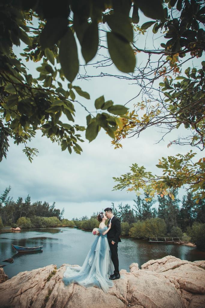 Chụp hình cưới Hồ Cốc - Aloha Studio