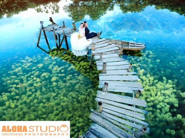 Phim trường Cù Lao với không gian mát mẻ, sông hồ trữ tình.