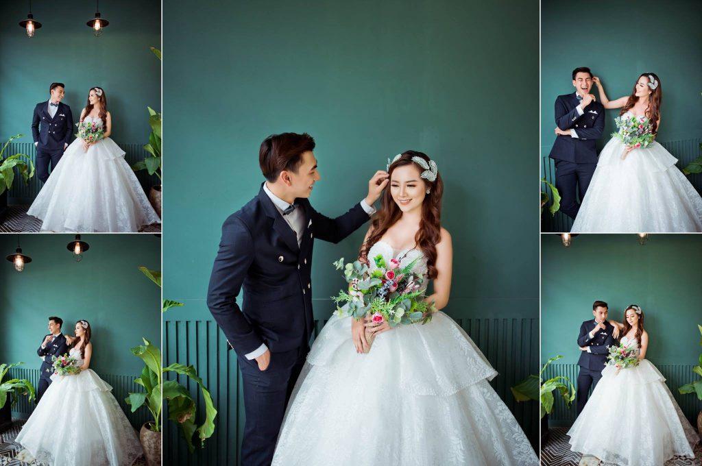 Diện lên mình trang phục cưới phù hợp như một cách để cô dâu hướng về văn hóa dân tộc