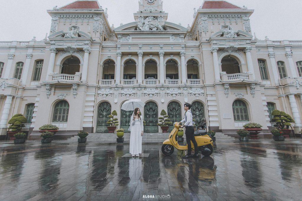 Chụp hình cưới ngoại cảnh Tp Hồ Chí Minh