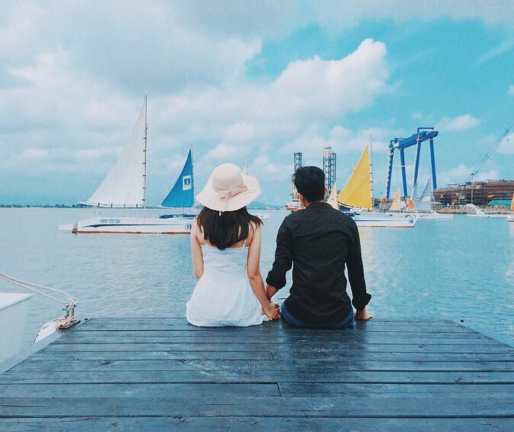 Địa điểm chụp ảnh cưới tại Bến tàu Du Thuyền
