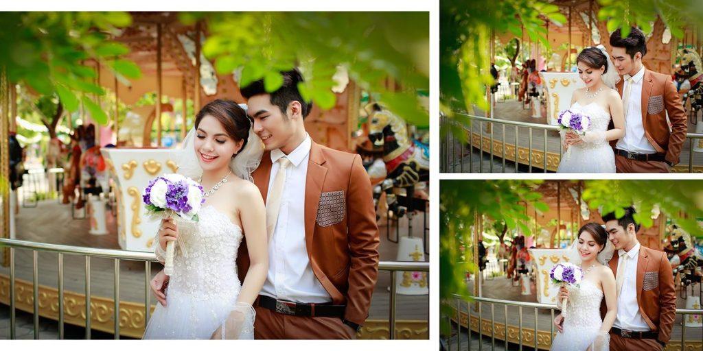 Địa điểm chụp ảnh cưới tại công viên Thỏ Trắng