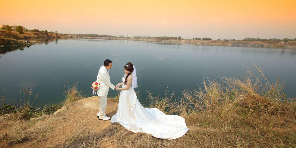 Địa điểm chụp ảnh cưới tại Hồ đá Thủ Đức