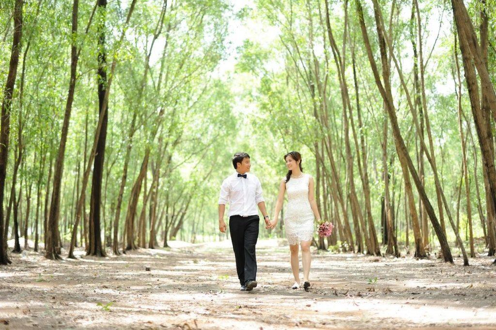 Địa điểm chụp ảnh cưới tại khu du lịch Bọ Cạp Vàng