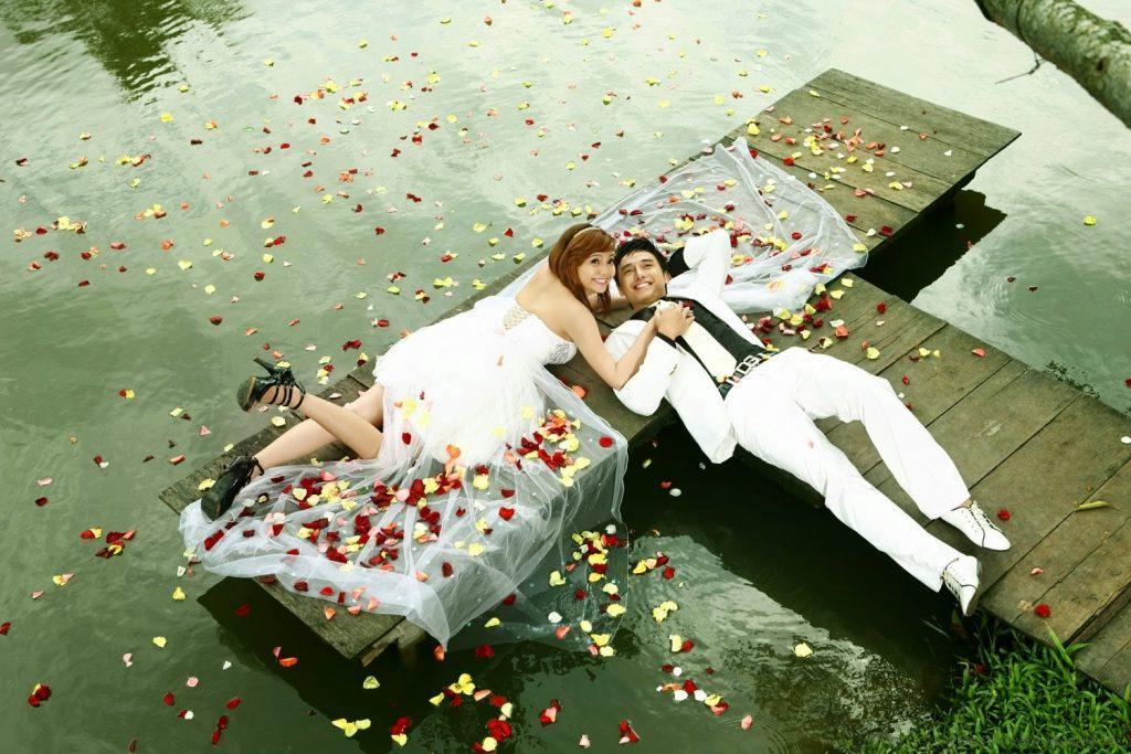 Địa điểm chụp ảnh cưới tại khu du lịch Văn Thánh