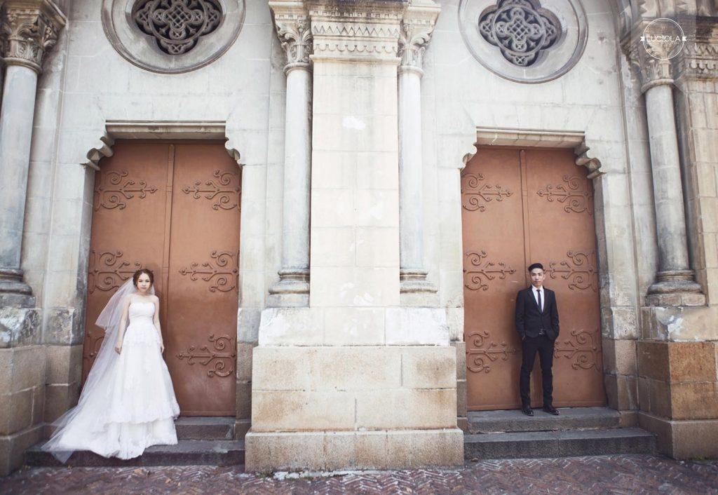Địa điểm chụp ảnh cưới tại Nhà thờ Đức Bà