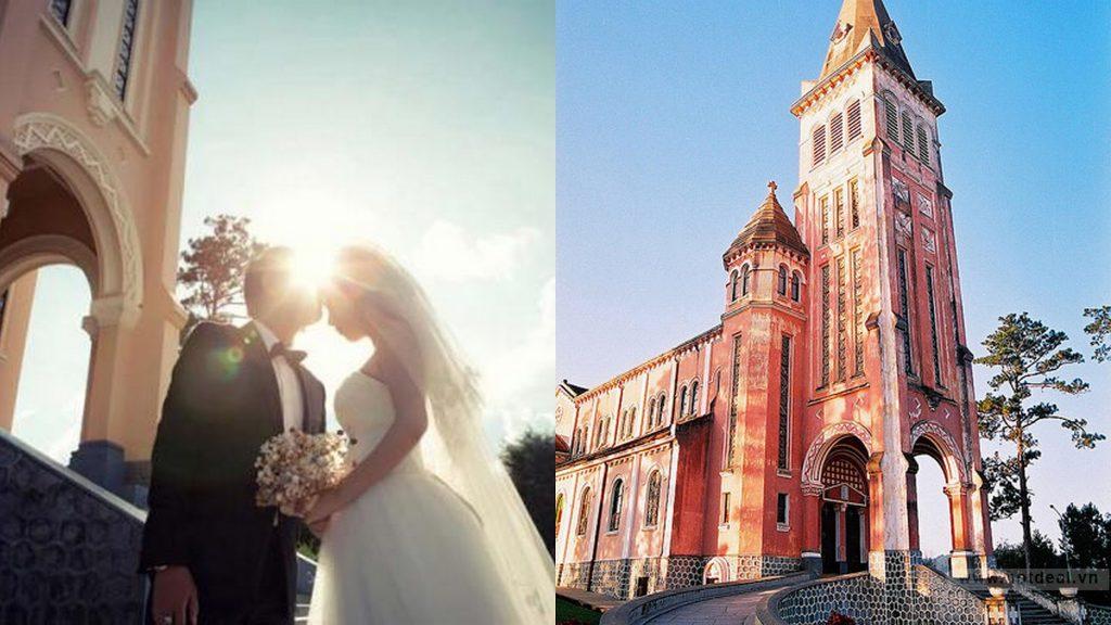 Địa điểm chụp ảnh cưới tại Nhà thờ Tân Định
