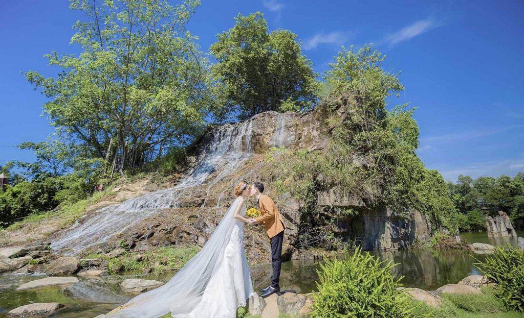 Địa điểm chụp hình cưới tại bửu long Đồng Nai Miền Nam