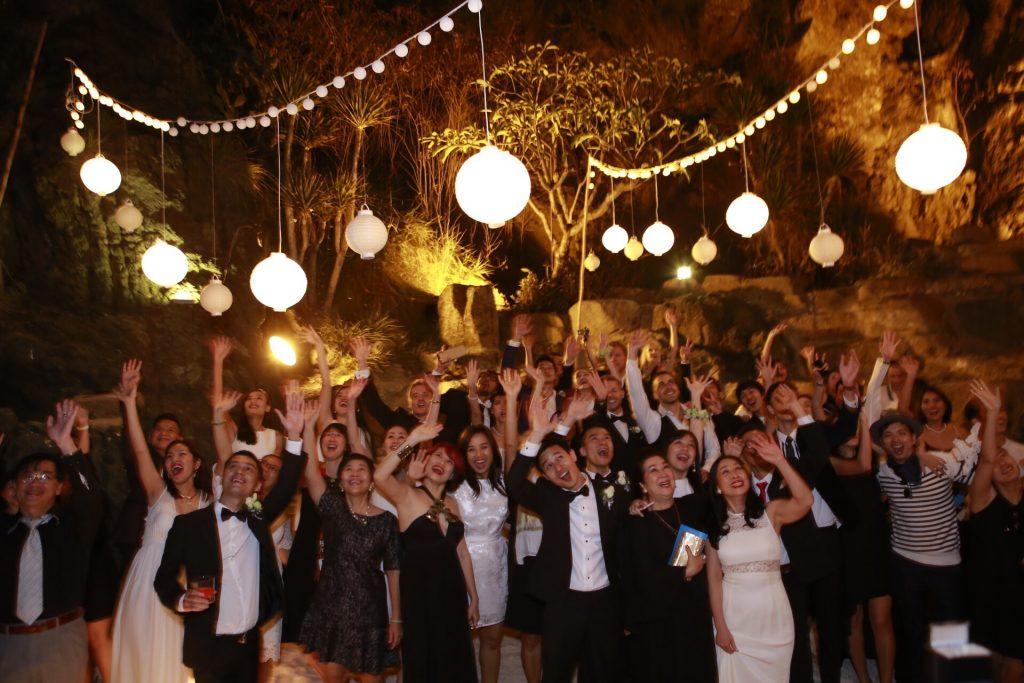 (Hình minh họa: lễ cưới được tổ chức phải làm hài lòng quan khách)