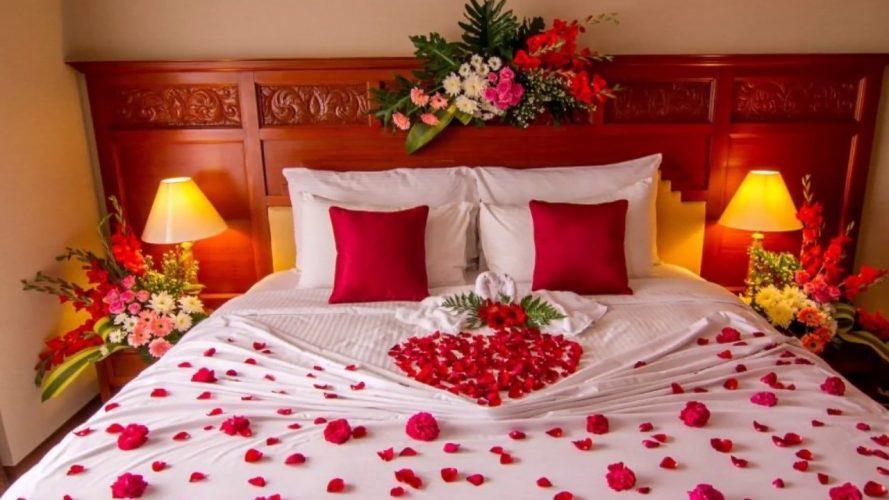 Cách trang trí phòng cưới bằng bóng bay cũng là một ý tưởng hay ho cho các cặp đôi uyên ương