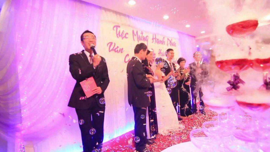 lời phát biếu trong đám cưới