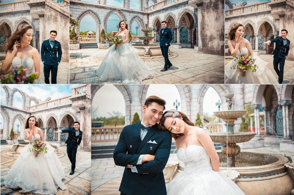 Chụp hình cưới đẹp tại Phim trường Alibaba