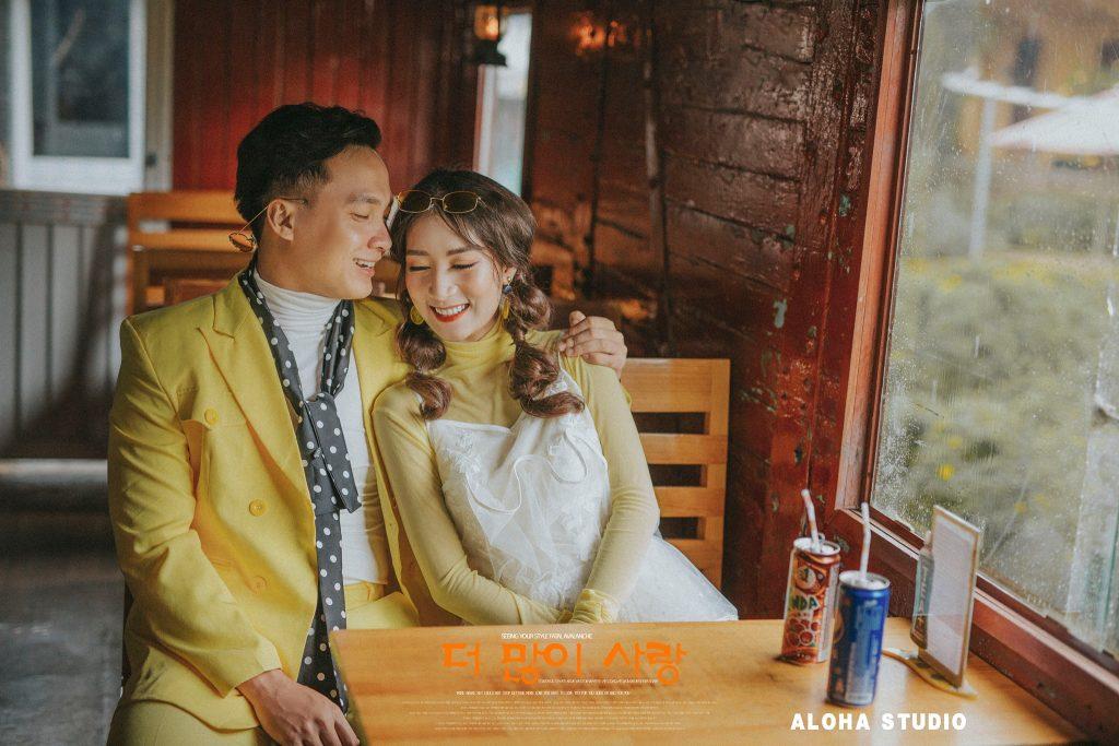 Ảnh cưới Hàn Quốc tại Chill Garden