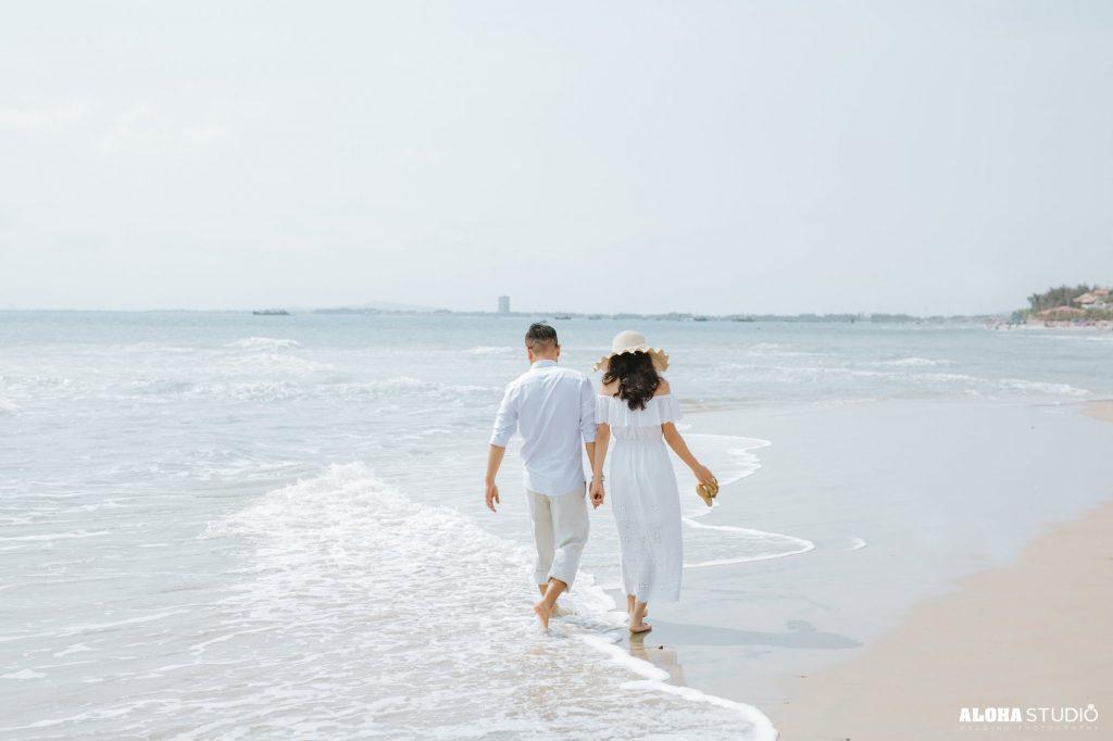 chụp ảnh cưới ở Quy Nhơn Biển