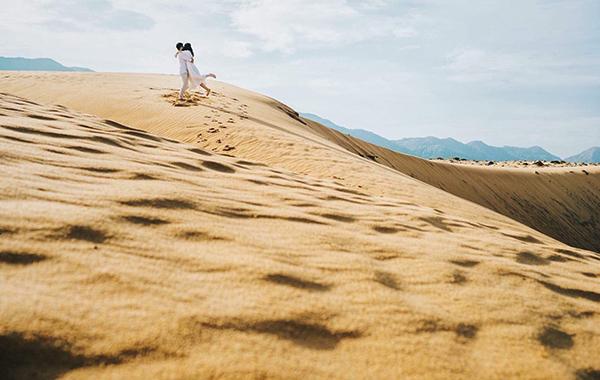 chụp ảnh cưới ở Quy Nhơn Cồn Cát