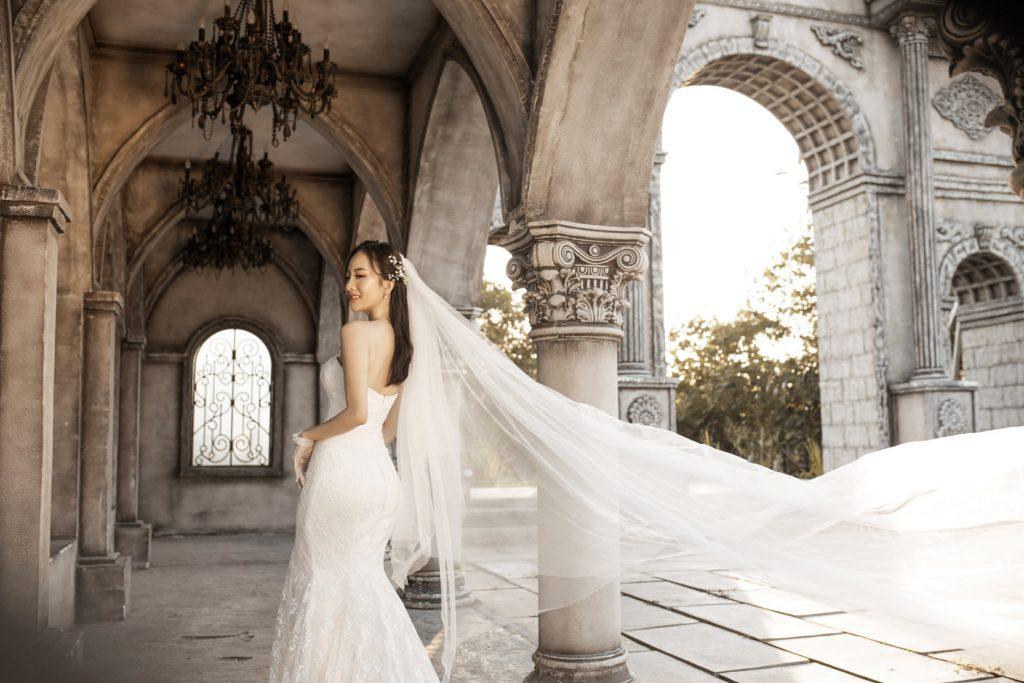 Chụp hình cưới phim trường Babylon