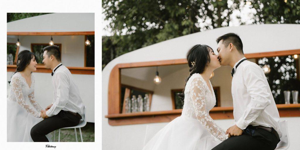 Chụp hình cưới tại Phim trường Cabin69
