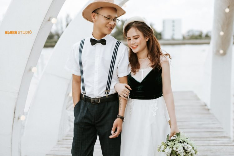 Chụp hình cưới nghệ thuật phim trường Cabin69