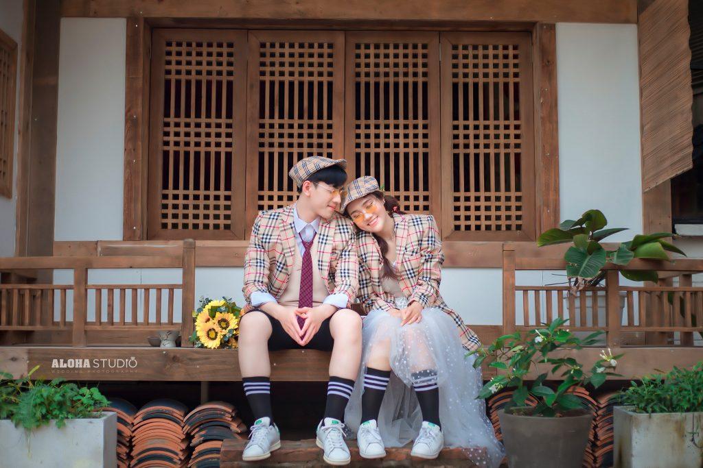 Đồi đôi chụp ảnh cưới đẹp Amor couple Aloha Studio