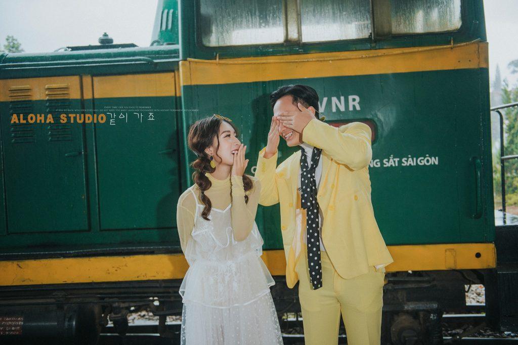 Đồ đôi hot trend chụp ảnh cưới Amor Couple
