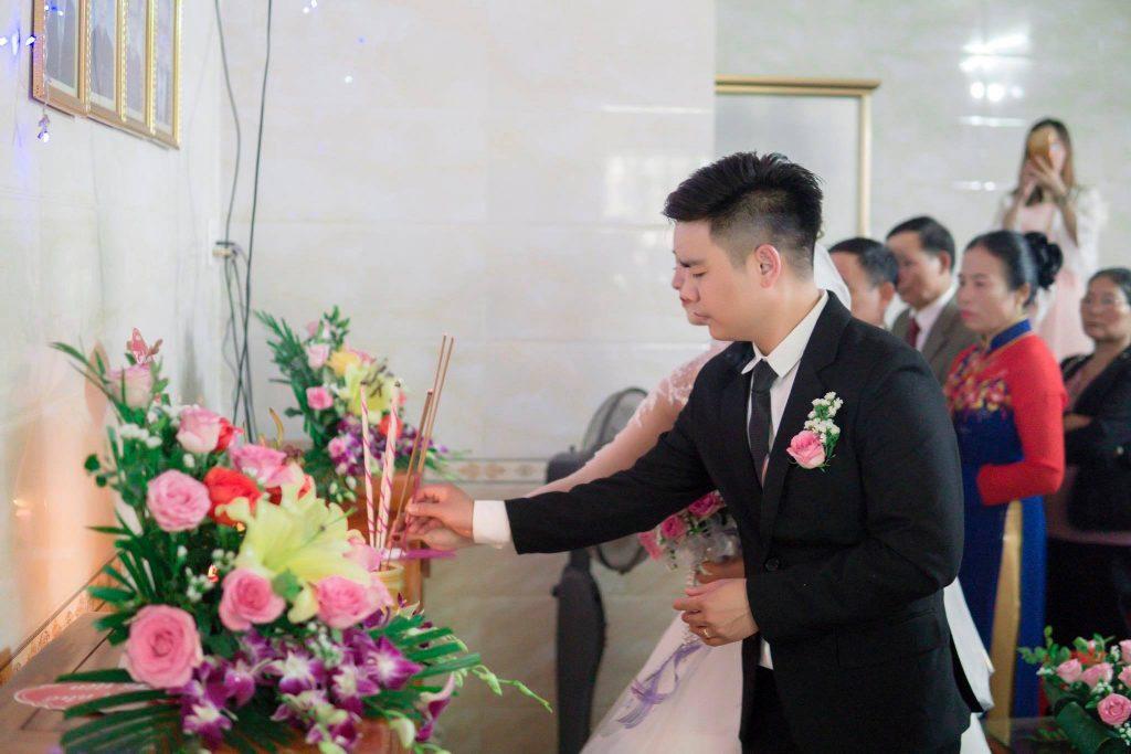 nghi thức lễ thành hôn