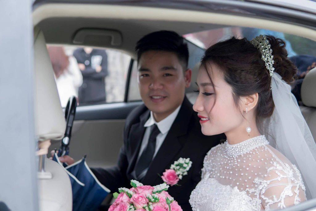 Nghi thức rước dâu lễ thành hôn