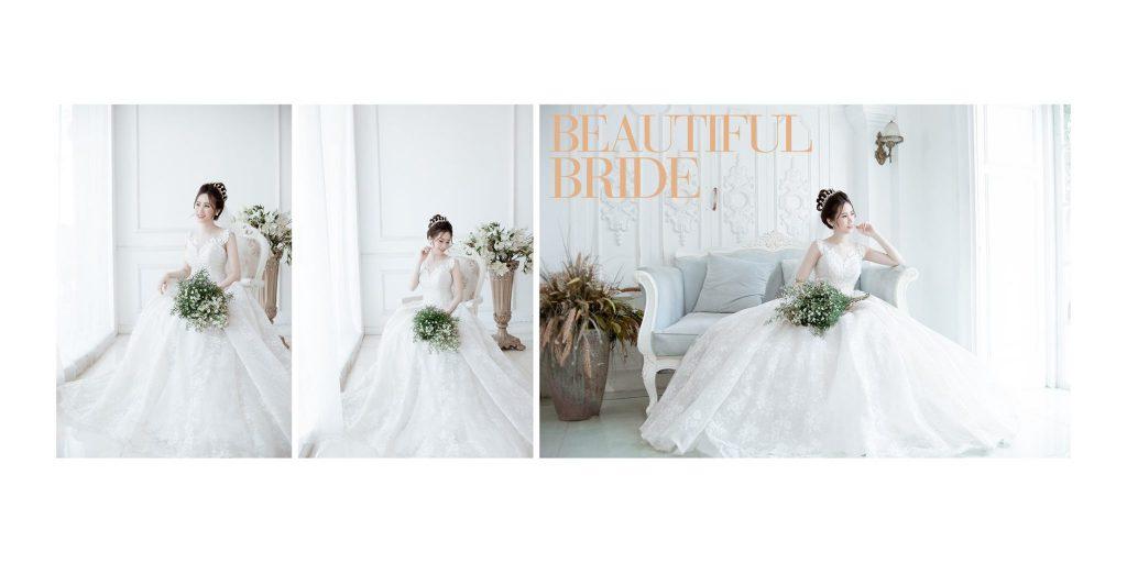 Phong cách chụp ảnh cưới Hàn Quốc phim trường mini Aloha Studio