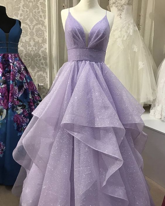 áo cưới tím pastel