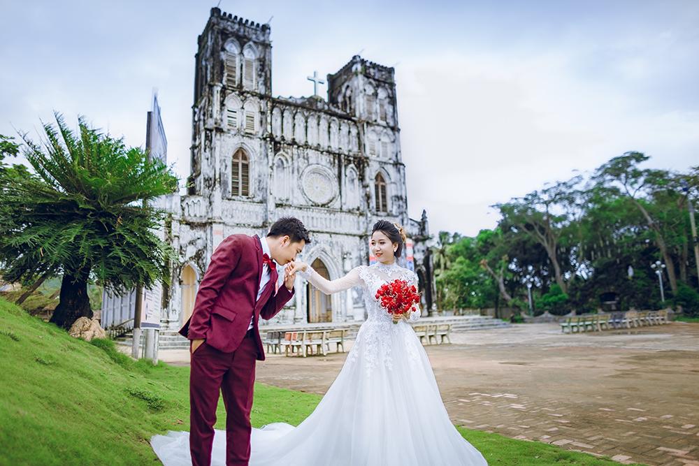 Chụp ảnh cưới nhà hàng Bằng Lăng Phú Yên