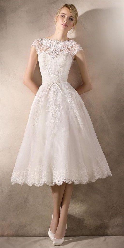 Váy cưới ngắn đẹp