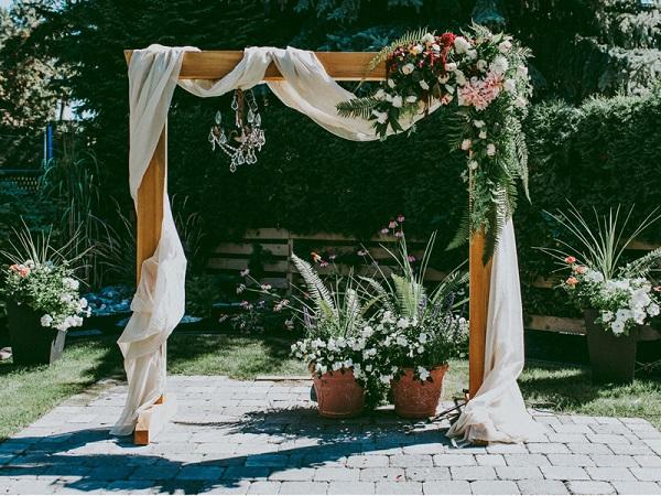 cổng cưới vintage