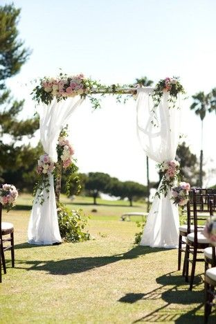 cổng hoa cưới vintage1