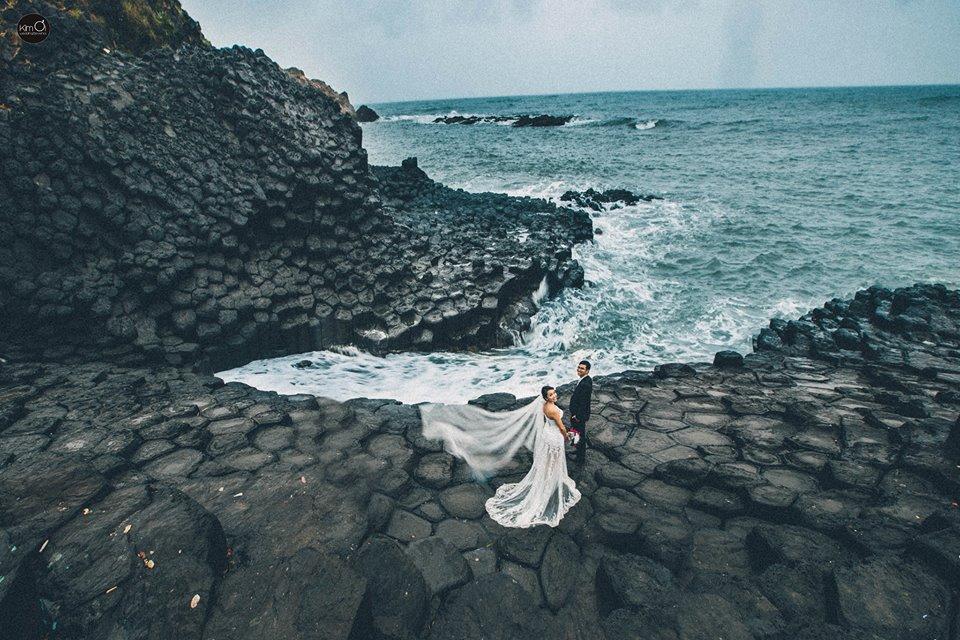 Chụp ảnh cưới Gành Đá Đĩa Phú Yên