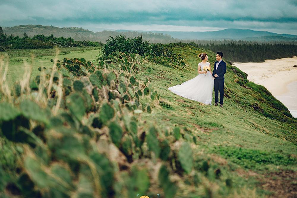 Chụp hình cưới tại Bãi Xếp Phú Yên