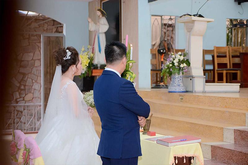 Lễ thành hôn của đạo công giáo