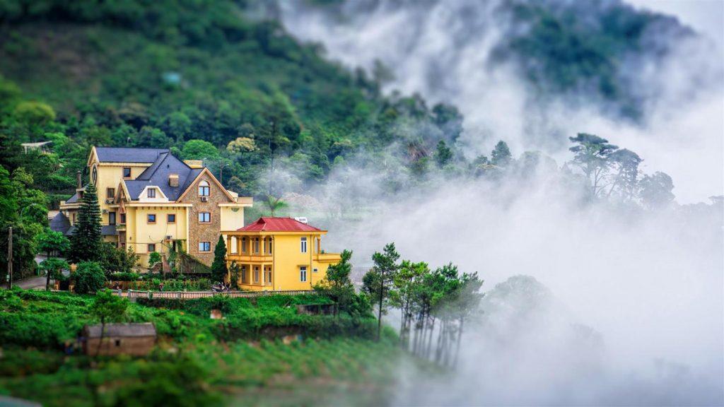 list 7 ngoại cảnh chụp ảnh cưới Tam Đảo