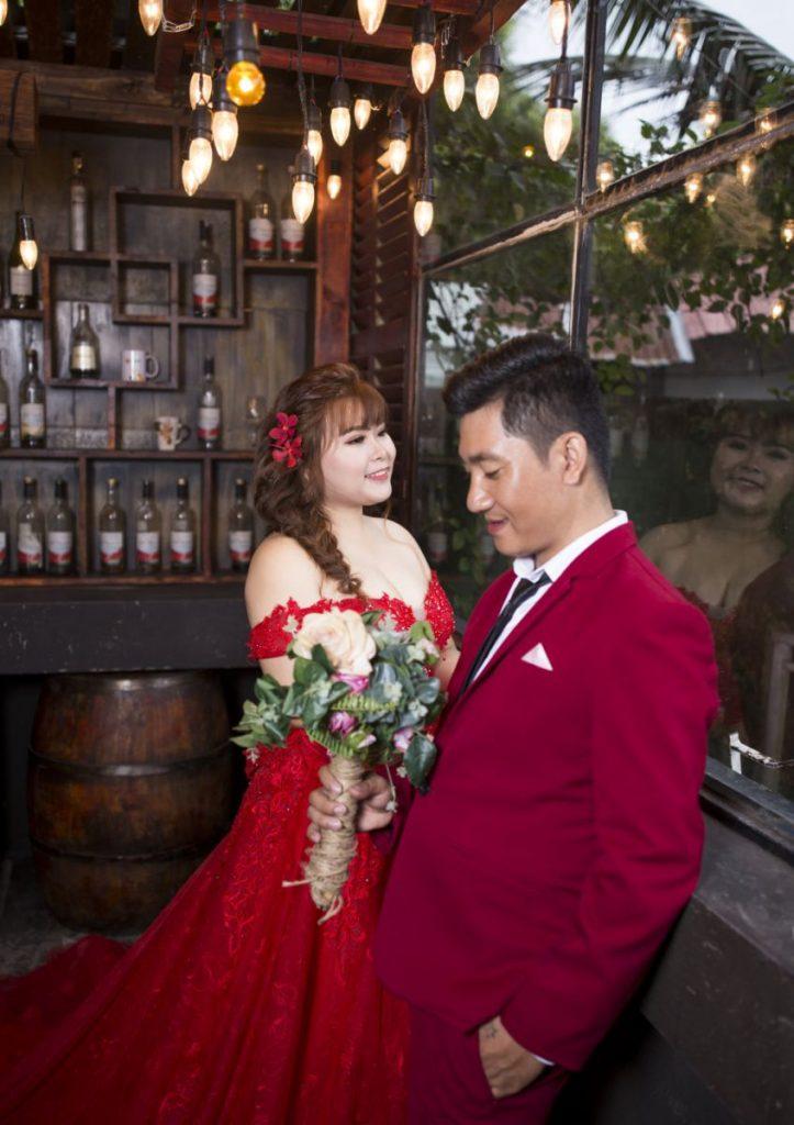 váy cưới - áo cưới cô dâu mập