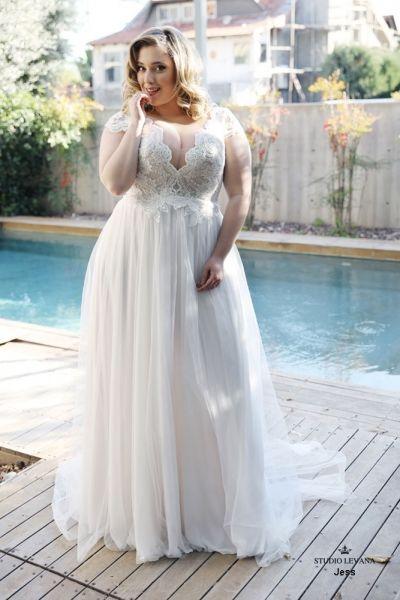 váy cưới đẹp cho người mập