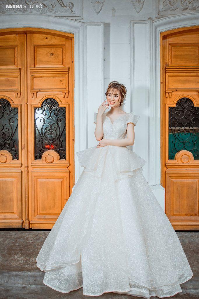 váy cưới công chúa đẹp