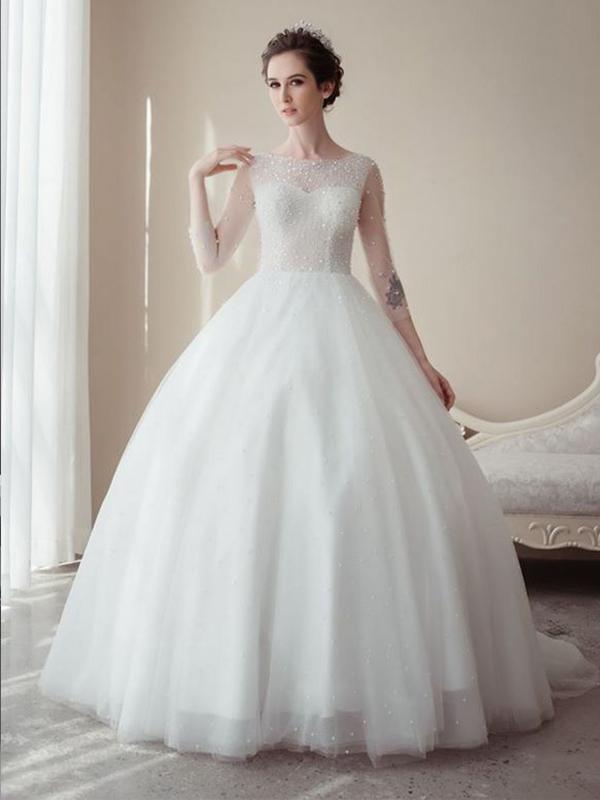 Cách may váy cưới chuẩn