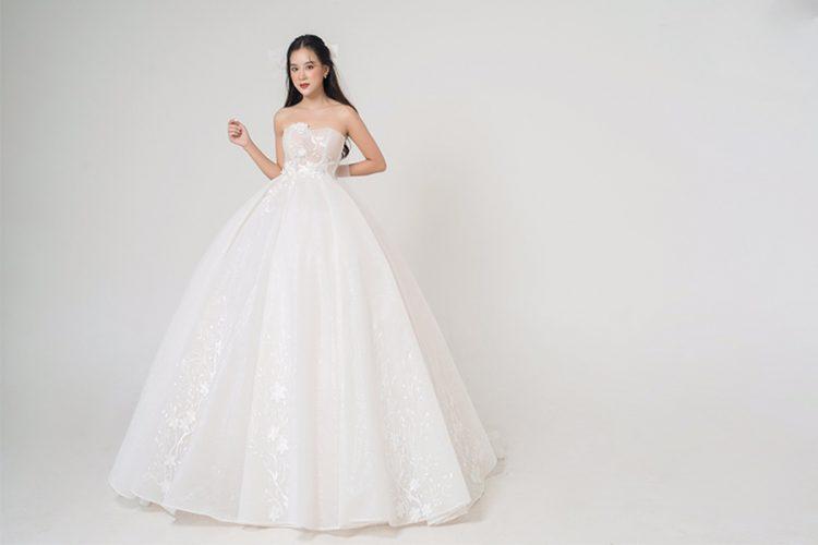 Cách may đo váy cưới