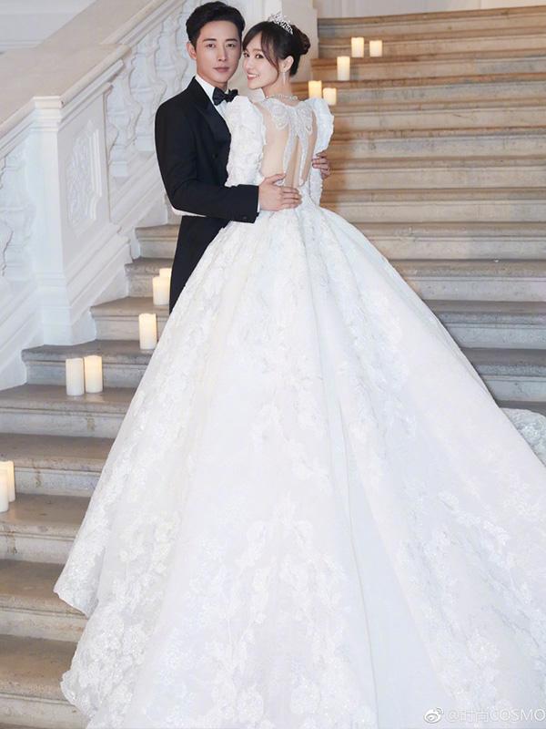 Váy cưới Đường Yên cũng nằm trong top váy cưới